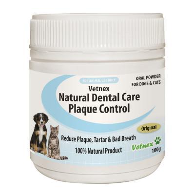 Vetnex Natural Dental Care Powder Original For Dogs And Cats 100g