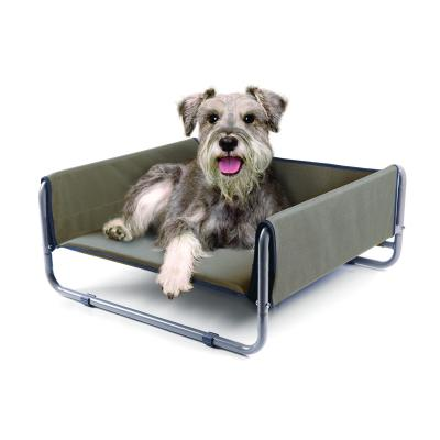 Kazoo WindShield Deluxe Raised Bed Cappuccino Medium For Dogs