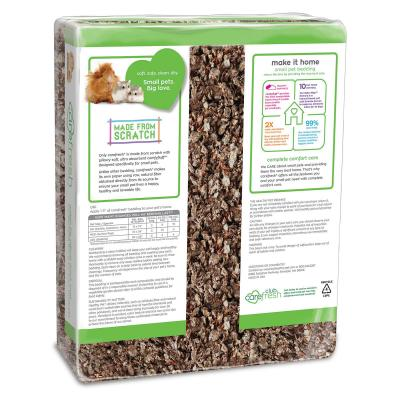 Carefresh Complete Natural Bedding Litter For Small Animals 25.7L Expands To 60L