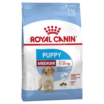 Royal Canin Medium Puppy/Junior Dry Dog Food 4kg