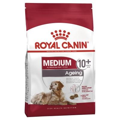 Royal Canin Medium Ageing +10 Years Mature/Senior Dry Dog Food 15kg