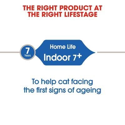 Royal Canin Bundle Indoor 7+ Years Adult/Mature Wet And Dry Cat Food