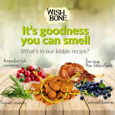 Wishbone Pasture Lamb Grain Free Dry Dog Food 10.88kg