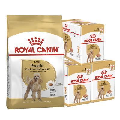 Royal Canin Bundle Poodle Adult Wet And Dry Dog Food