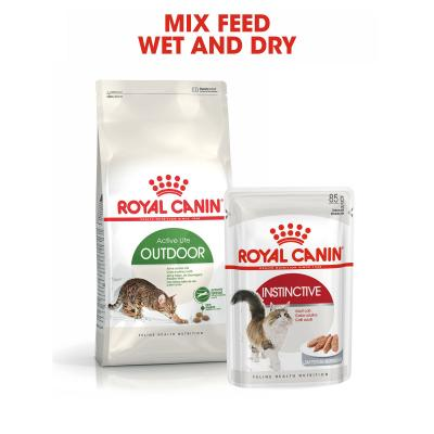 Royal Canin Instinctive In Gravy Adult Pouches Wet Cat Food 85gm x 48