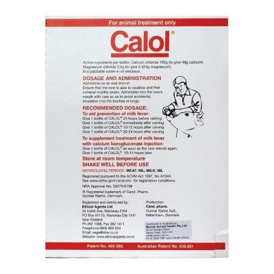 Calol Oral Calcium Supplement For Cows 400ml