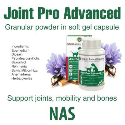 Natural Animal Solutions (NAS) Joint Pro Advance For Dogs And Cats 120 Caps (60 Caps x 2)