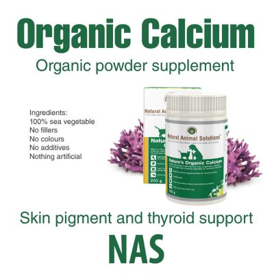 Natural Animal Solutions(NAS) Natures Organic Calcium For Dogs And Cats 400gm (200gm x 2)