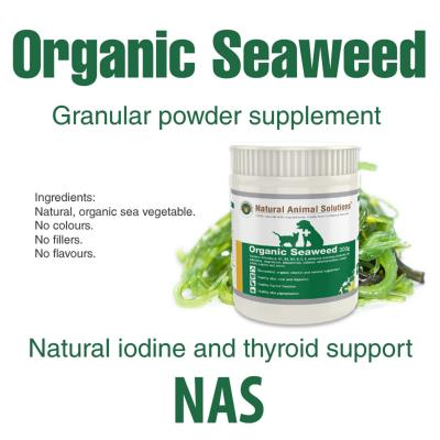 Natural Animal Solutions Organic Seaweed For Dogs And Cats 600gm (300gm x 2)