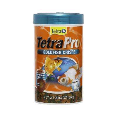 TetraPro Goldfish Crisps Food For Fish 86g