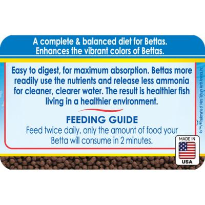 API Betta Floating Pellets Food For Fish Aquarium 22gm