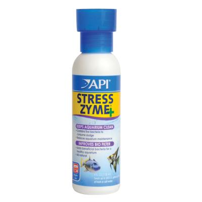 API Stress Zyme For Fish Aquarium 118ml