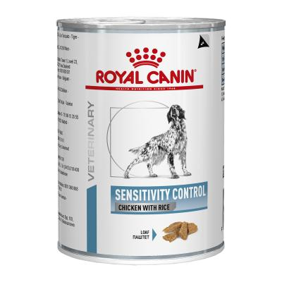 Royal Canin Veterinary Diet Canine Sensitivity Control Canned Wet Dog Food 420gm x 12 (BY23X)