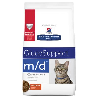 Hills Prescription Diet Feline m/d Glucosupport Chicken Dry Cat Food 1.8kg (4273)