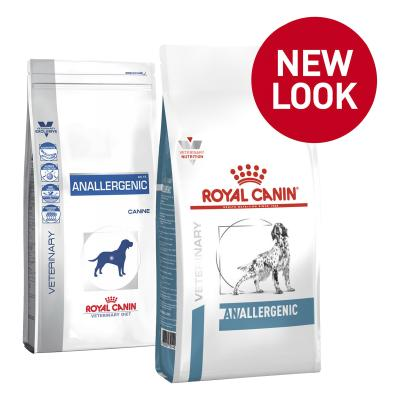 Royal Canin Veterinary Diet Canine Anallergenic Dry Dog Food 8kg (17990)