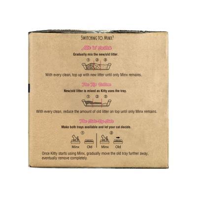 Minx Clumping Corn Cat Litter Value Buy 15kg