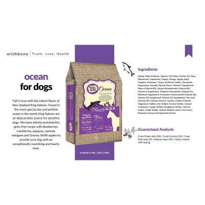Wishbone Ocean Salmon Grain Free Dry Dog Food 10.88kg