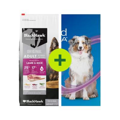 NexGard Spectra Dog Chewables Plus Black Hawk Food For Dogs