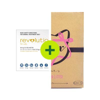 Revolution Plus Minx Litter For Cats