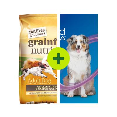 NexGard Spectra Plus Natures Goodness Dry Food For Dogs