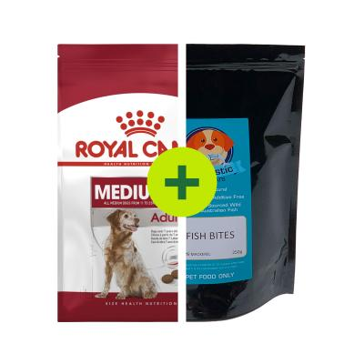 Royal Canin Food Plus Fishtastic Treats For Dogs