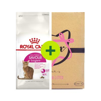 Royal Canin Exigent Savour Food Plus Minx Litter For Cats