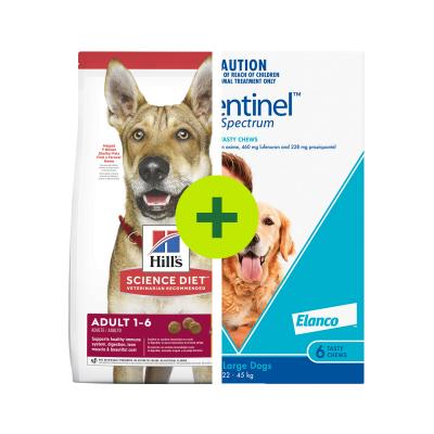 Hills Science Diet Food Plus Sentinel Spectrum For Dogs