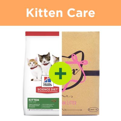 Hills Science Diet Kitten Food Plus Minx Litter For Cats