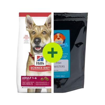 Hills Science Diet Food Plus Fishtastic Treats For Dogs