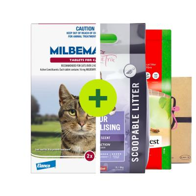 Milbemax Allwormer Plus Litter For Cats