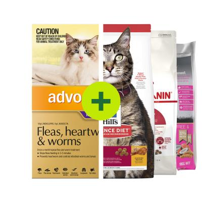 Advocate Plus Premium Food For Cats