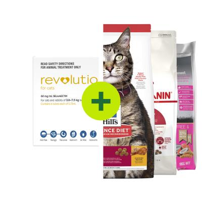 Revolution Plus Premium Food For Cats