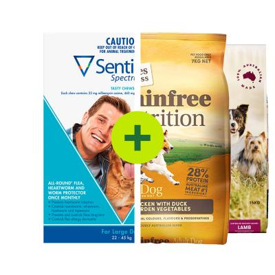 Sentinel Spectrum Plus Grain Free Natural Food For Dogs
