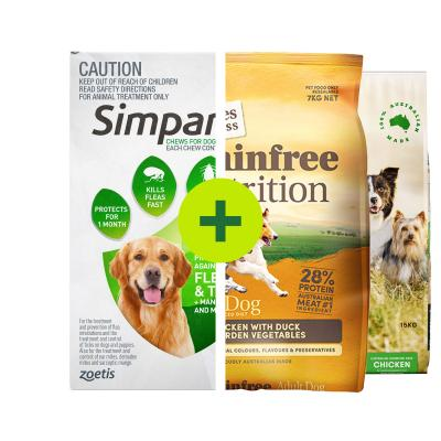 Simparica Plus Grain Free Natural Food For Dogs