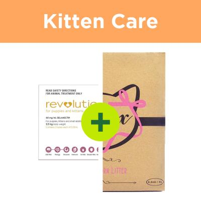 Revolution Kitten Plus Minx Litter For Cats