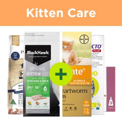 Natural Kitten Food Plus Parasite Protection For Cats