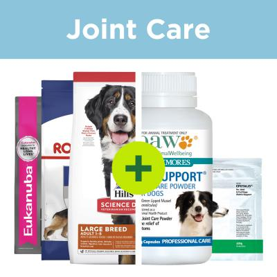 Large Breed Joint Care - Premium Food Plus Joint Supplements For Dogs
