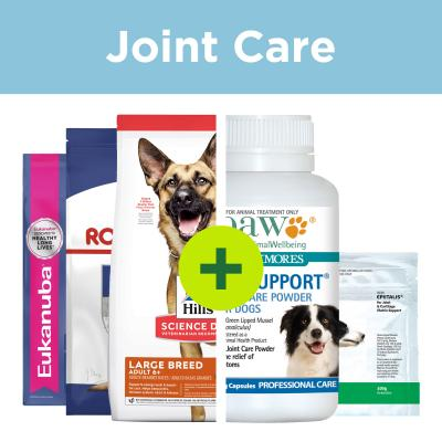 Large Breed Senior Mature Joint Care - Premium Food Plus Joint Supplements For Dogs