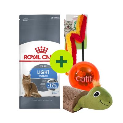 Royal Canin Weight Control Food Plus Toys For Cats