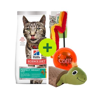 Hills Science Diet Weight Management Food Plus Toys For Cats