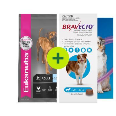 Eukanuba Food Plus Parasite Protection For Dogs