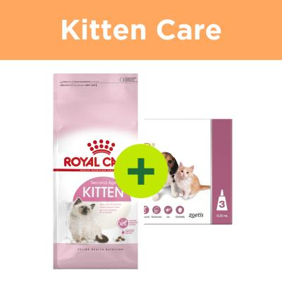 Royal Canin Kitten Food Plus Revolution Kitten For Cats
