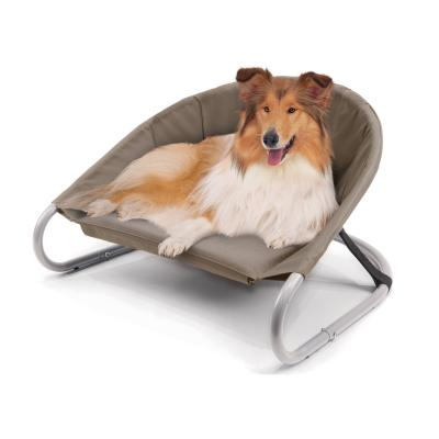 Kazoo Sleepin Round Deluxe Raised Bed Cappuccino Large For Dogs