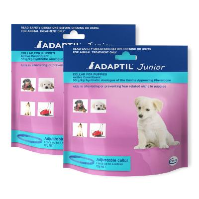 Adaptil Junior Puppy Collar For Dogs 45cm Fits Necks Up to 37.5cm x 2