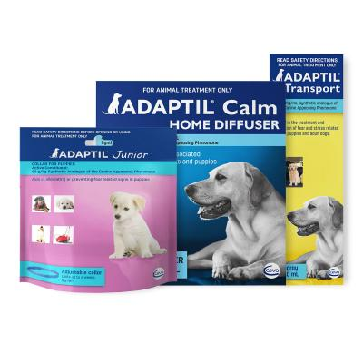 Adaptil Puppy Complete Care For Dogs Calm Home Diffuser Set And Spray With Junior Collar 45cm Fits Necks Up to 37.5cm