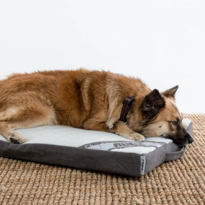 Rogz Flat Mattress Lounge Podz Brown Grey Small Bed For Dogs