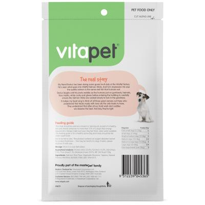 Vitapet Salmon Sticks Treats For Dogs 80g