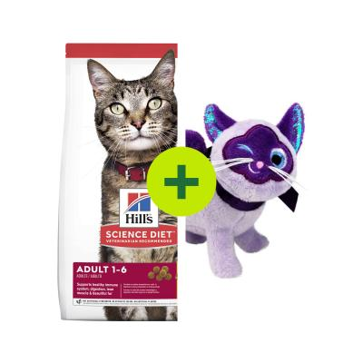 Hills Science Diet Optimal Care Food Plus KONG Toys For Cats