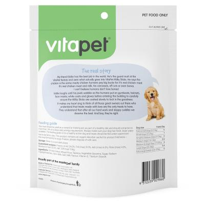 Vitapet Jerhigh Milky Sticks Treats For Puppies And Dogs 400g