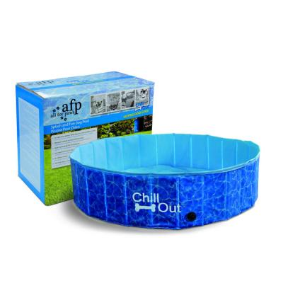 AFP Chill Out Splash And Fun Pool Large For Dogs 160cm x 30cm